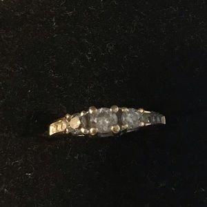 Jewelry - Diamonds Ring with white gold 14K Size 5
